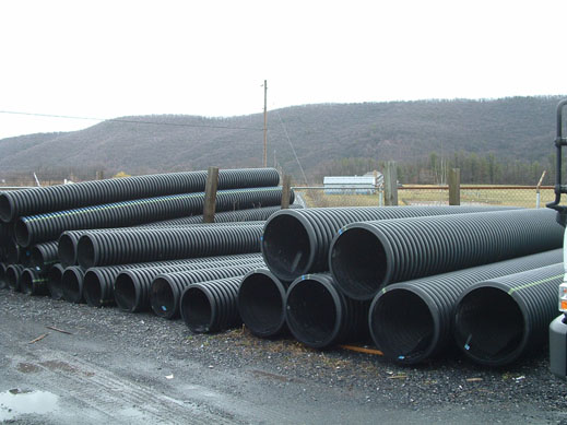 Double Walled Culvert Pipe